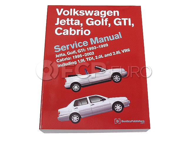 VW Repair Manual - Bentley VW8000116