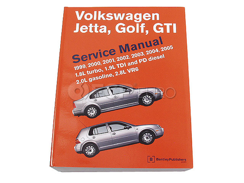 VW Repair Manual (Phaeton) - Bentley VG05