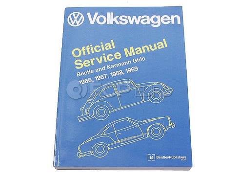 VW Repair Manual (Beetle Karmann Ghia) - Bentley V121