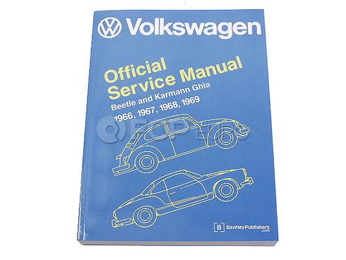 VW Repair Manual (Beetle Karmann Ghia) - Robert Bentley VW8000121