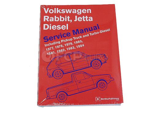 VW Repair Manual (Rabbit Jetta Rabbit Pickup) - Robert Bentley VW8000122