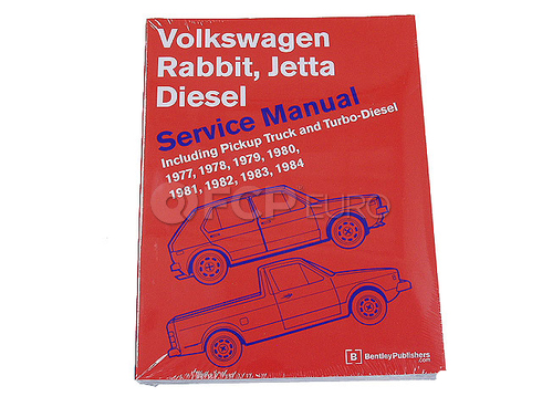 VW Repair Manual (Rabbit Jetta Rabbit Pickup) - Robert Bentley VW8000122
