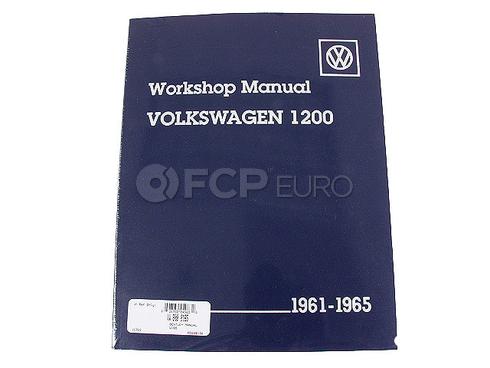 VW Repair Manual (Beetle Karmann Ghia) - Robert Bentley VW8000165