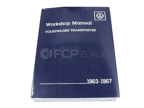 VW Repair Manual (Transporter) - Bentley VW8000267