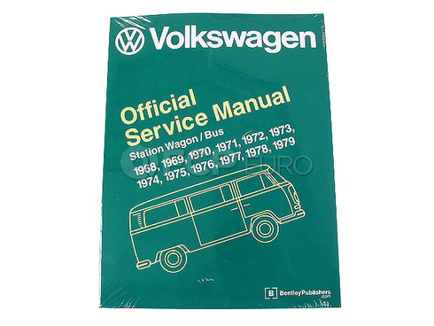 VW Repair Manual (Campmobile Transporter) - Bentley V279