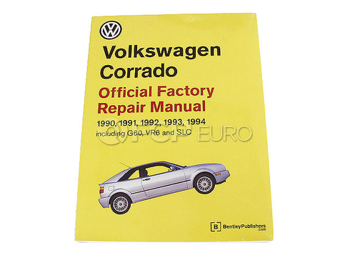 VW Repair Manual (Corrado) - Bentley VW8000300