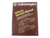 VW Repair Manual - Bentley VSQU