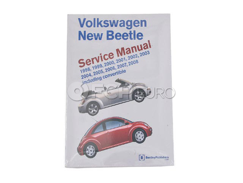 VW Repair Manual (Beetle) - Bentley VW8000408