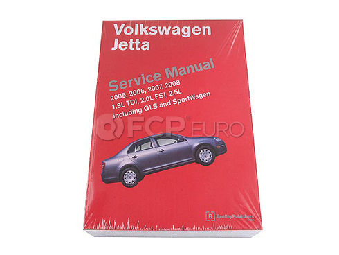 VW Repair Manual (Jetta) - Bentley VJ10