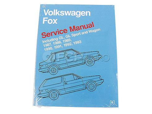 volkswagen fox 1993 manual