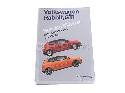 VW Repair Manual (Rabbit GTI) - Bentley VW8000600