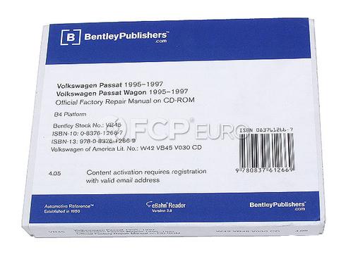 VW CD-ROM Repair Manual (Passat) - Robert Bentley VW8053000