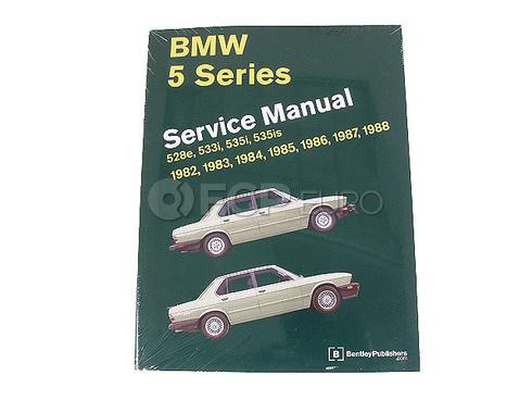 BMW Repair Manual (5 Series) - Bentley B588