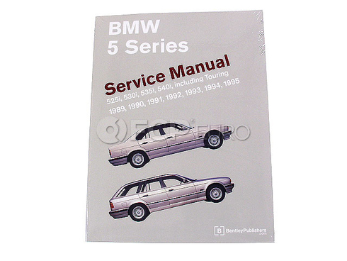 BMW Repair Manual (5 Series) - Bentley B595
