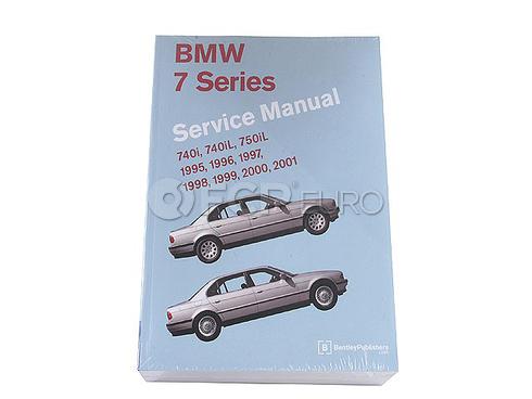 BMW Repair Manual (740i 740iL 750iL) - Bentley B701