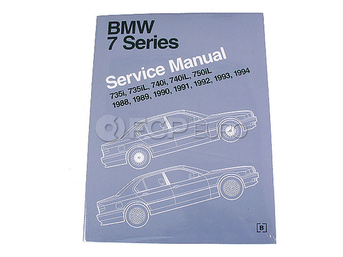 BMW Repair Manual (735i 735iL 750iL) - Bentley B794