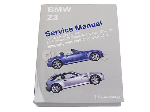 BMW Repair Manual (Z3) - Bentley BZ02