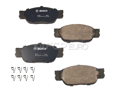 Jaguar Brake Pad Set (S-Type XJ8 Vanden Plas) - Bosch BP933