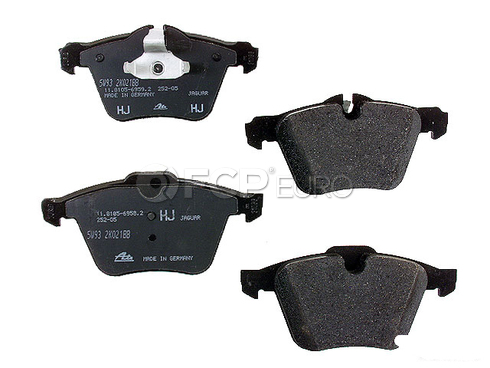 Jaguar Brake Pad Set - Genuine Jaguar C2C027291