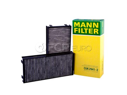 BMW Cabin Air Filter (X5 X6) - Mann CUK2941-2