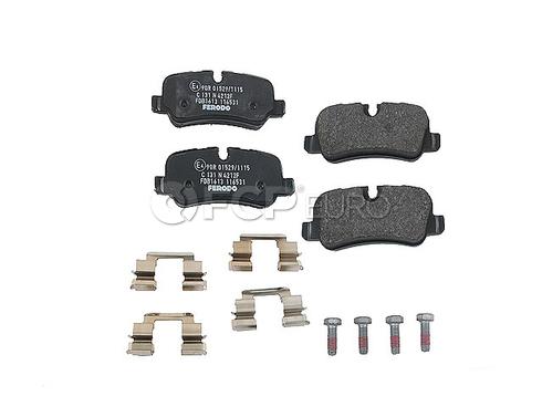 Land Rover Disc Brake Pad Rear (Range Rover Range Rover Sport LR3 LR4) - Ferodo SFP500140