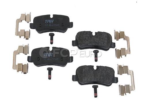 Land Rover Disc Brake Pad Rear (Range Rover Range Rover Sport LR3 LR4) - TRW D1099TRW