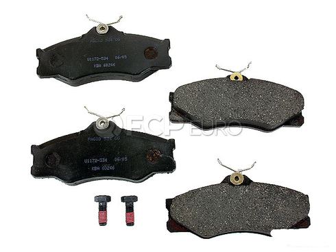 VW Brake Pad Set (Vanagon Transporter) - Pagid D1139P