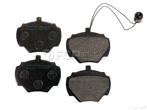 Land Rover Disc Brake Pad Rear (Range Rover) - Mintex D1285MTX