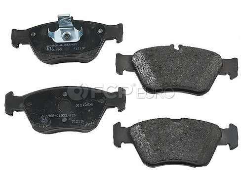 Mercedes Brake Pad Set Front (C-Class SLK) - Textar 0044200220