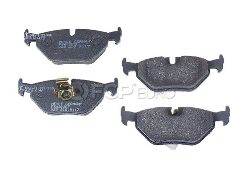 BMW Brake Pad Set - Meyle D1334SM