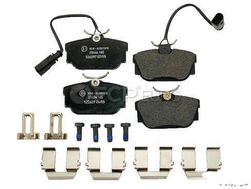 VW Brake Pad Set (EuroVan) - Textar 7M3698451F