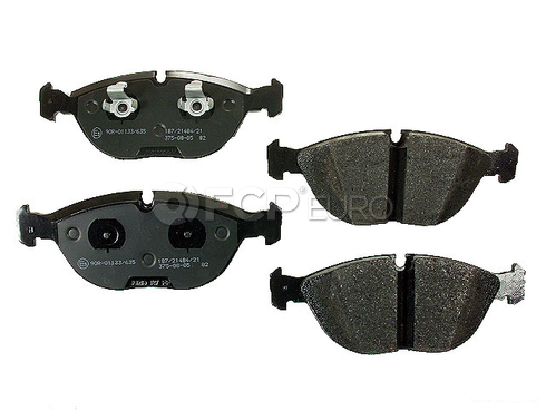 Audi VW Brake Pad Set (Golf TT Quattro) - Jurid D1680J