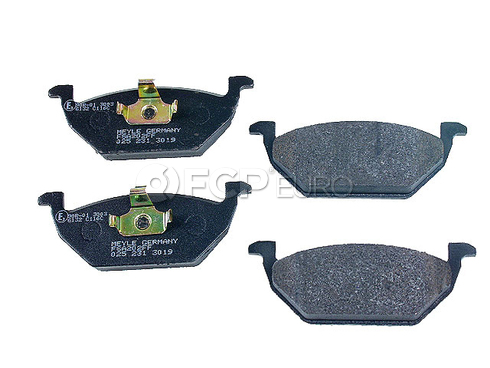 VW Brake Pad Set (Beetle Golf Jetta) - Meyle Semi Metallic D190SM