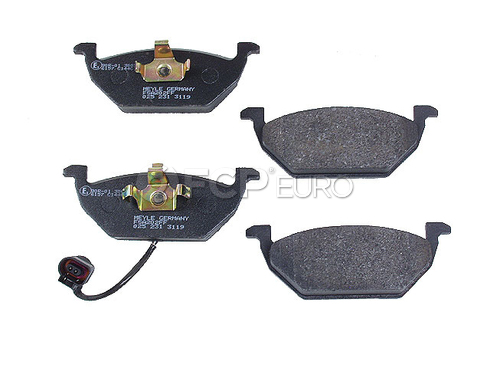 VW Brake Pad Set (Jetta Beetle Golf) - Meyle Semi Metallic D191SM