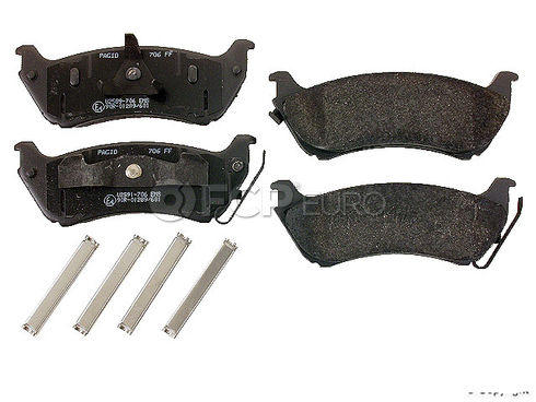 Mercedes Brake Pad Set (ML) - Pagid 0424711950