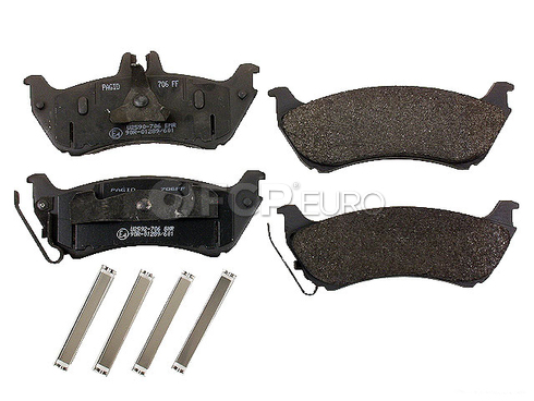 Mercedes Brake Pad Set (ML) - Pagid 1634200520