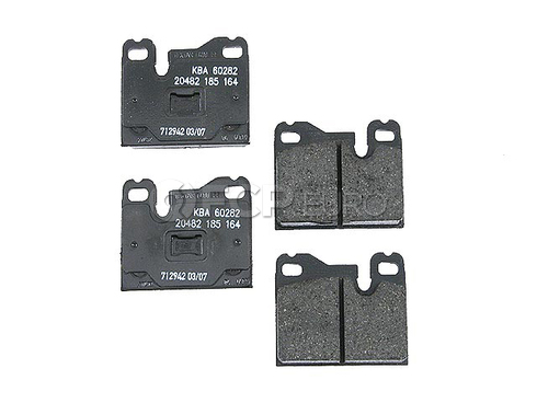 Porsche Brake Pad Set (944 924 928) - Textar 52004450375