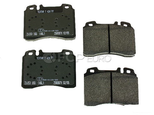 Mercedes Brake Pad Set Front - Textar 0024203720