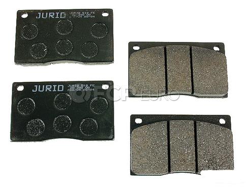 Jaguar Brake Pad Set (Vanden Plas XJ12 XJ6 XJRS XJS) - Jurid D244J