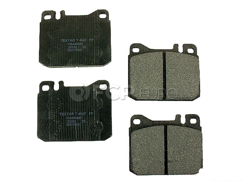 Mercedes Brake Pad Set - Textar 0014207820