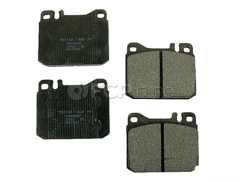 Mercedes Brake Pad Set - Textar 0014207820