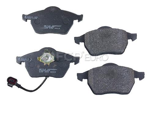 Audi VW Brake Pad Set (TT Beetle Golf Jetta) - Meyle 1J0698151M