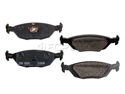 Saab Brake Pad Set (900 9000) - Textar D322T
