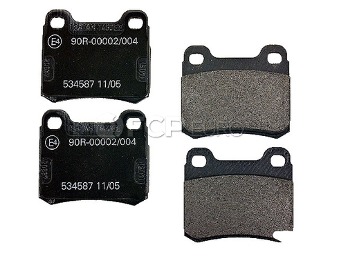 Mercedes Brake Pad Set Rear (190E) - Textar 0004209820