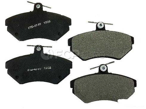 VW Brake Pad Set (Passat Golf Jetta Cabrio) - Meyle Semi Metallic D371SM