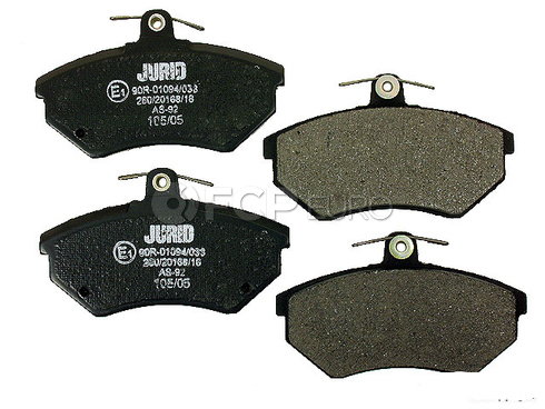 Audi VW Brake Pad Set - Jurid D387J