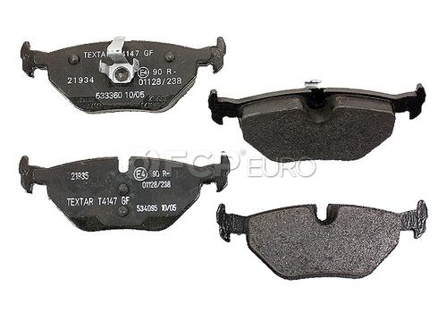 Saab Brake Pad Set (9-5) - Textar D499T