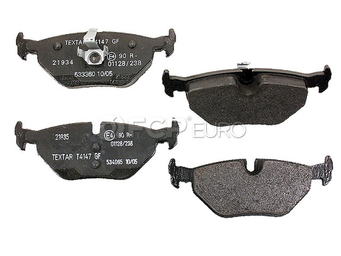 Saab Brake Pad Set (9-5) - Textar D499T
