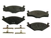 VW Brake Pad Set - Ate 1H0698151