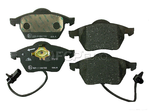 VW Audi Brake Pad Set Front - ATE D600A